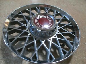 1974 1978 Ford Mustang Ghia Hubcap Center Honeycomb Wire Wheel Cover Center Cap