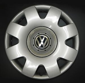 New Genuine Oem Vw Hub Cap Beetle 2002 2005 8 Spoke Cover Fits 16 Inch Wheel
