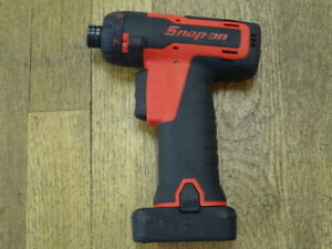 Snap On 14 4v Cts761a Cordless Screwdriver With 2ah Battery