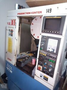 Kira Vtc30e Vertical Machining Center With Fanuc Control cnc Milling Machine