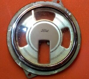 1939 Ford Dash Gauge Cluster Housing used Housing Only