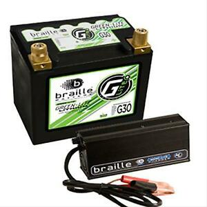 Braille Battery G30c Green Lite Lithium Ion 12 Volt Automotive Battery And Charg