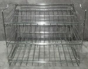 Chrome 3 shelf Retail Store Counter Food Grade Merchandise Display Stand Rack