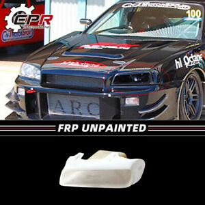 For Nissan Skyline R34 Gtr Gtt Frp Trim Vented Headlight Duct Left Replacement