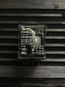 General Electric Cr420mpa044j Relay