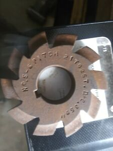 Involute Gear Cutter No 5 6 P 21 To 25 T Gear Hobber Barber coleman