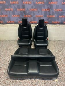 2013 Camaro Ss Black Front Rear Leather Seat katzkin Leather Covers