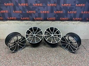 2013 Corvette C6 427 Convertible Oem Cup Wheels Rims 19x10 20x12 5x120 Speedline