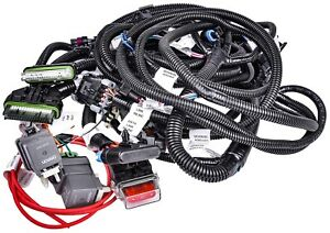 Chevrolet Performance 88961967 Ram Jet 350 Ecm Wire Harness For Use With 809 889