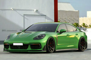 Carbon Fiber Front Bumper Lip Kits For 2017 Porsche Panamera 971 G2 Sd Style