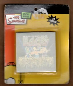 The Simpsons Sticky Note Pad Springfield Rocks 75 Sheets 3 X 3