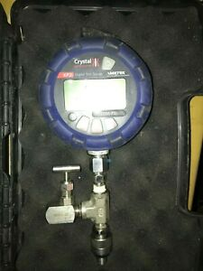 Crystal Precision Digital Test Gauge Pressure Xp2i 2000 Psi
