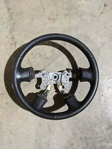 Leather Wrapped 04 12 Canyon Colorado Genuine Gm Steering Wheel 19417133