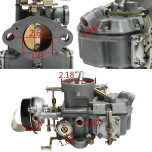 For Ford Autolite 1100 Carburetor 170 200 Engines