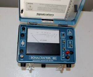 Signalcrafters Model 60 Impedance Magnitude Meter Signal Crafters