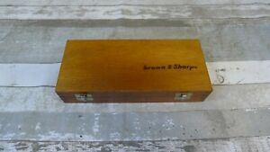 Brown And Sharpe Digit mike 2 3 0001 20 10 Micrometer Swiss Made