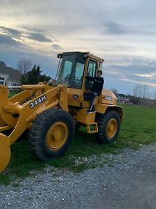 Deere 344h Wheel Loader John Deere