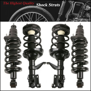 New 4x Front Rear Complete Shock Struts W Spring Assy For 03 11 Honda Element