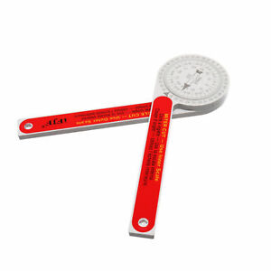 Red Replaces For Starrett 505p 7 Miter Saw Protractor Dial Accurate Angle Finder