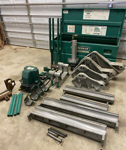 Greenlee 881ct Cam Track Conduit Pipe Bender 2 1 2 4 Emt Rigid Imc 980 Pump