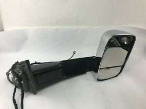 2019 2020 Ram 1500 Dt Blind Spot Right Fold Power Chrome Trailer Tow Mirror Oem