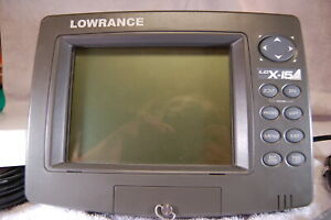Lowrance LCX-15mt Fish Finder/GPS Chart Plotter system Complete!!