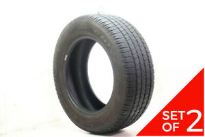 Set Of 2 Used 265 60r18 Goodyear Wrangler Sr A 109t 7 5 32