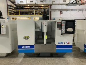Fadal Vmc 3016 Vertical Machining Center Model 904 1 W 8 Collet Tools Included