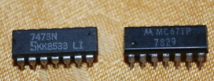 Lot Of 60 Semiconductor Integrated Circuit Mixed Lot All 14 Head