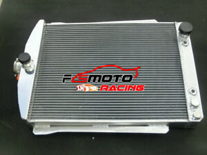 T 2 2 5row Alu Radiator For Chevrolet Chevy Car Street Rod Auto 1940 1941 H 28