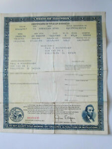 1971 Javelin Barn Find Historical Document