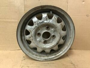 Wheel 13x5 Steel Excluding Gs Hatchback Silver Fits 90 95 Mazda 323 473404