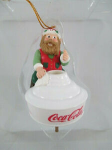 Coca-Cola Bottling Works Collection Ornament Coca-Cola Lamp Christmas