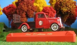 1/43 ON30 VEHICLE LIQUIDATION COCA COLA 36 FORD PLATEAU PICKUP RARE!!