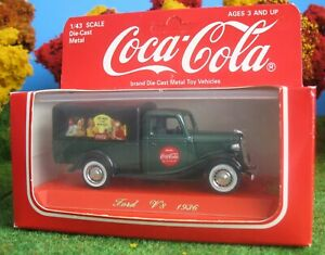 1/43 ON30 VEHICLE LIQUIDATION COCA COLA 36 FORD V8 PICKUP RARE!!