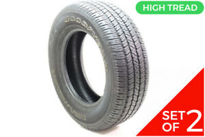 Set Of 2 Used 275 65r18 Goodyear Wrangler Sr A 114t 8 5 32