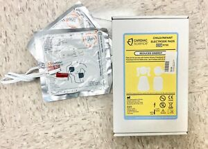 Cardiac Science Adult Child Infant Electrode Pads Training Expired Aed Cpr