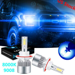 For 2005 2006 2007 Ford F250 F350 F450 F550 Super Duty Led Headlight Bulbs 8000k