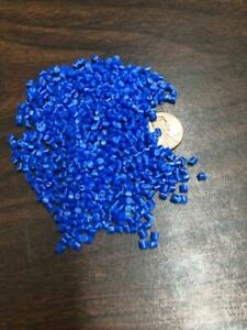 Pp Plastic Pellets Polypropylene Resin Material Injection Molding Blue 45 Lbs