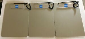 Lot 3 American Express Gray Clipboards W pens