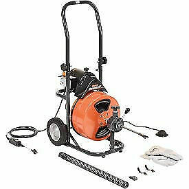 General Wire Mini rooter Xp Drain sewer Cleaning Machine W 75 X 1 2 cable 4