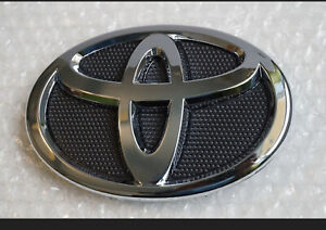 Toyota Corolla Grille Emblem 2009 2013 Hood Grill Black Chrome 75301 02010