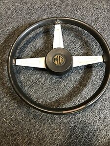 Mgb Steering Wheel With Center Cap Used