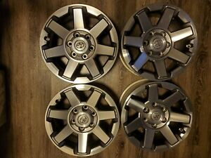 Toyota 4runner Trail Edition Wheels 17 X 7 5 Oem New Chrome Lugs