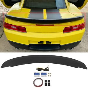 Fits 14 15 Chevrolet Camaro Flush Mount Oe Style Trunk Spoiler Wing Painted