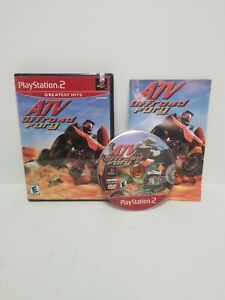 ATV Offroad Fury PS2 Complete w/ Manual (Sony PlayStation 2  2001) CIB