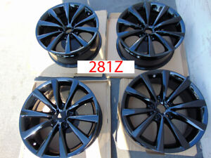 18 Bmw 7 Series 740i 750i Black Wheels Oem Factory 5x112 Winter Snow 281z