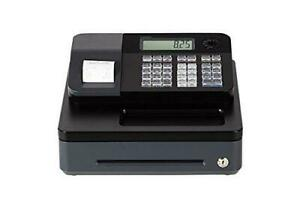 Casio Pcr t273 Electronic Cash Register Programmable Lockable Led Tax Display