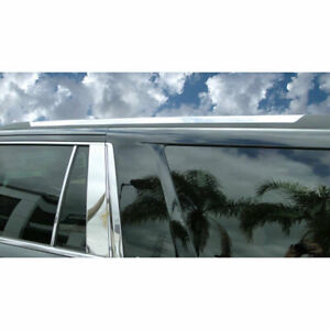 For 2015 2020 Chevy Tahoe Gmc Yukon Roof Rack Body Molding Trim 2pc Stainless