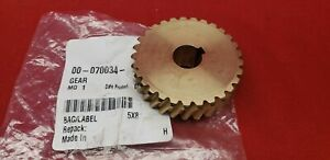 Hobart D300 Worm Gear P n 00 070034 29 Tooth Hobart Mixer Parts